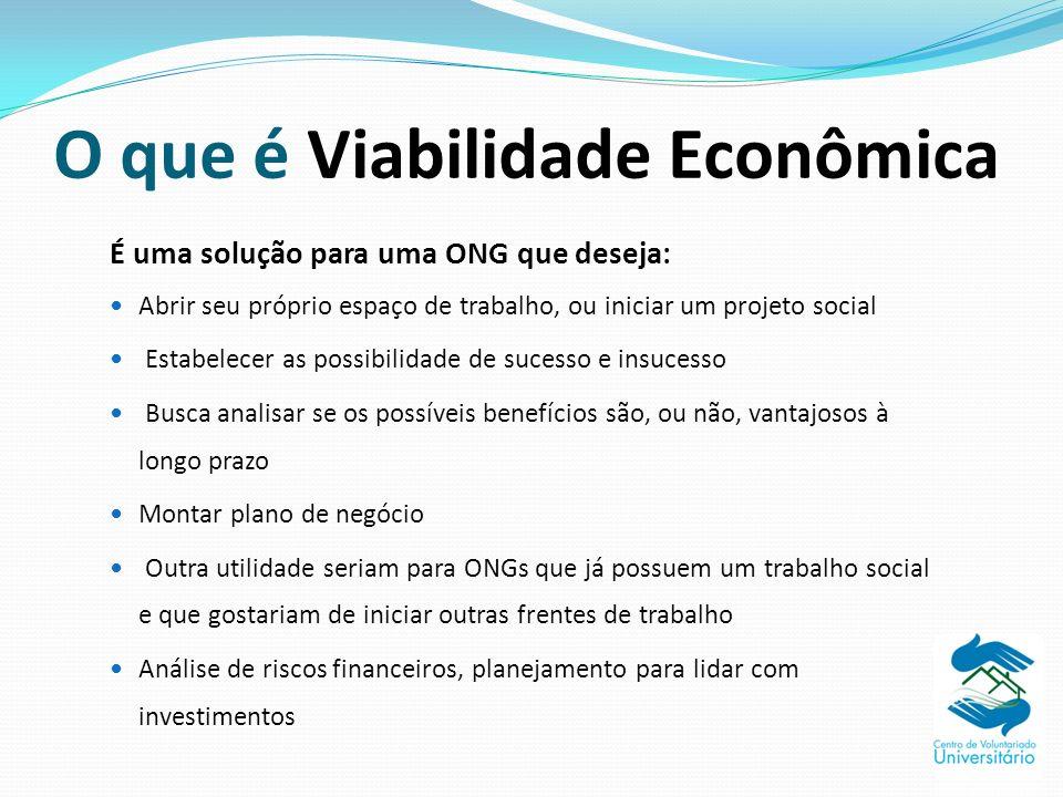 O que é Viabilidade Econômica