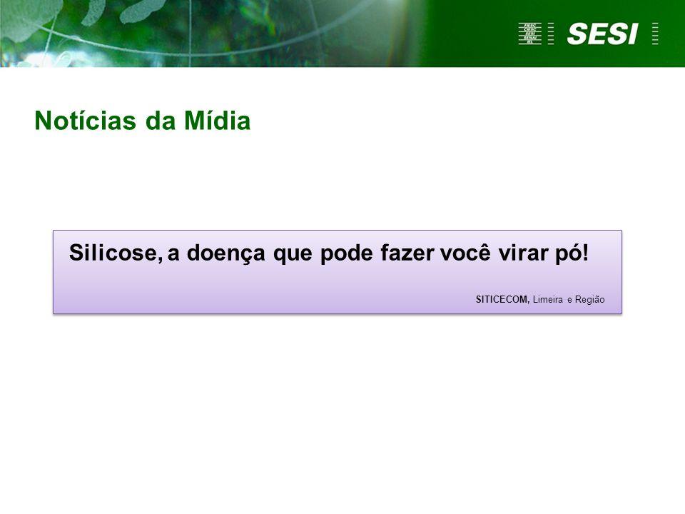 Notícias da Mídia Silicose, a doença que pode fazer você virar pó!