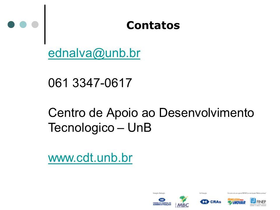 Centro de Apoio ao Desenvolvimento Tecnologico – UnB