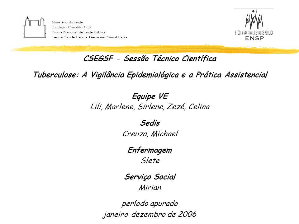 CSEGSF - Sessão Técnico Científica