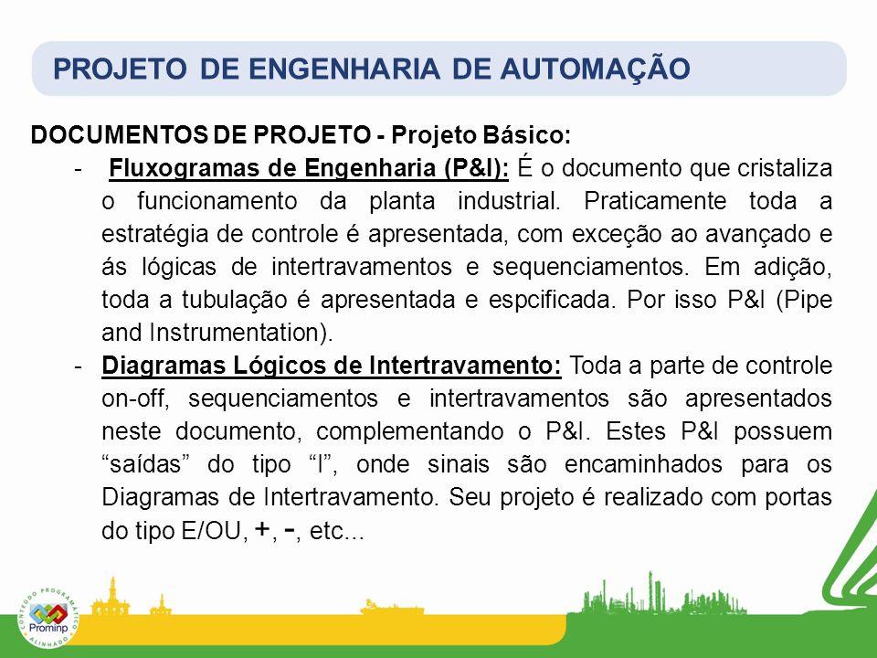 PROJETO DE ENGENHARIA DE AUTOMAÇÃO