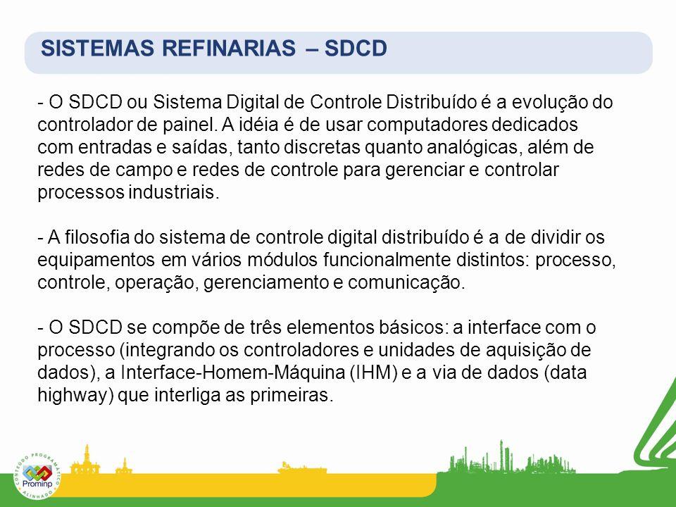 SISTEMAS REFINARIAS – SDCD