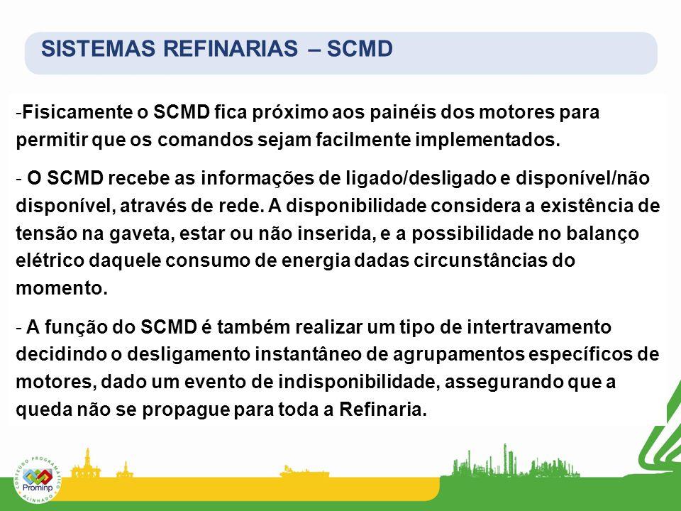 SISTEMAS REFINARIAS – SCMD