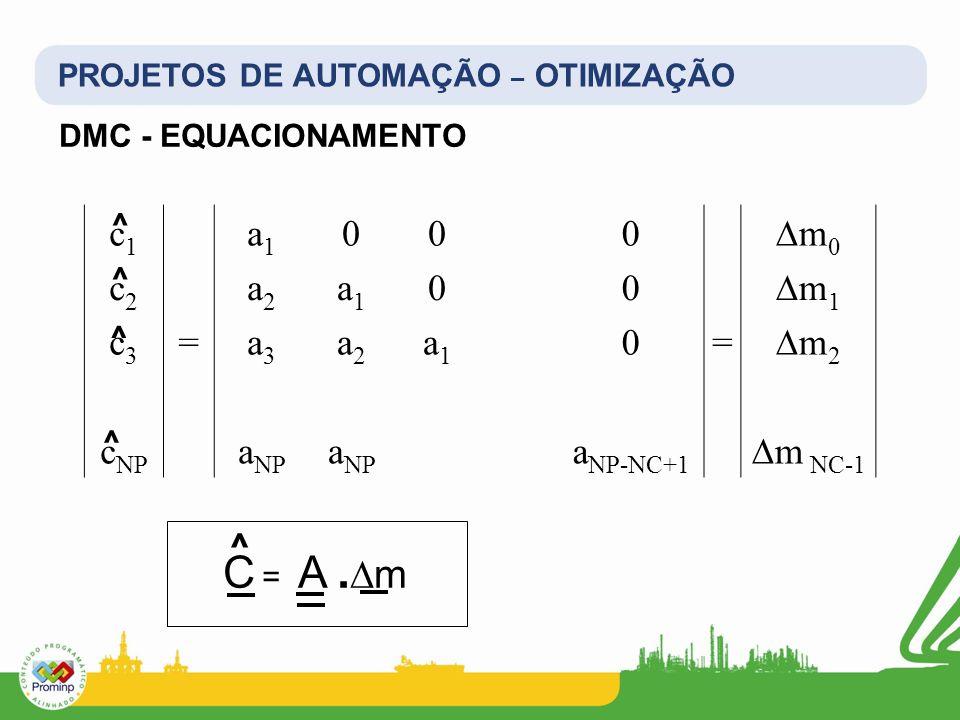C = A .∆m c1 a1 ∆m0 c2 a2 ∆m1 c3 = a3 ∆m2 cNP aNP aNP-NC+1 ∆m NC-1 ^