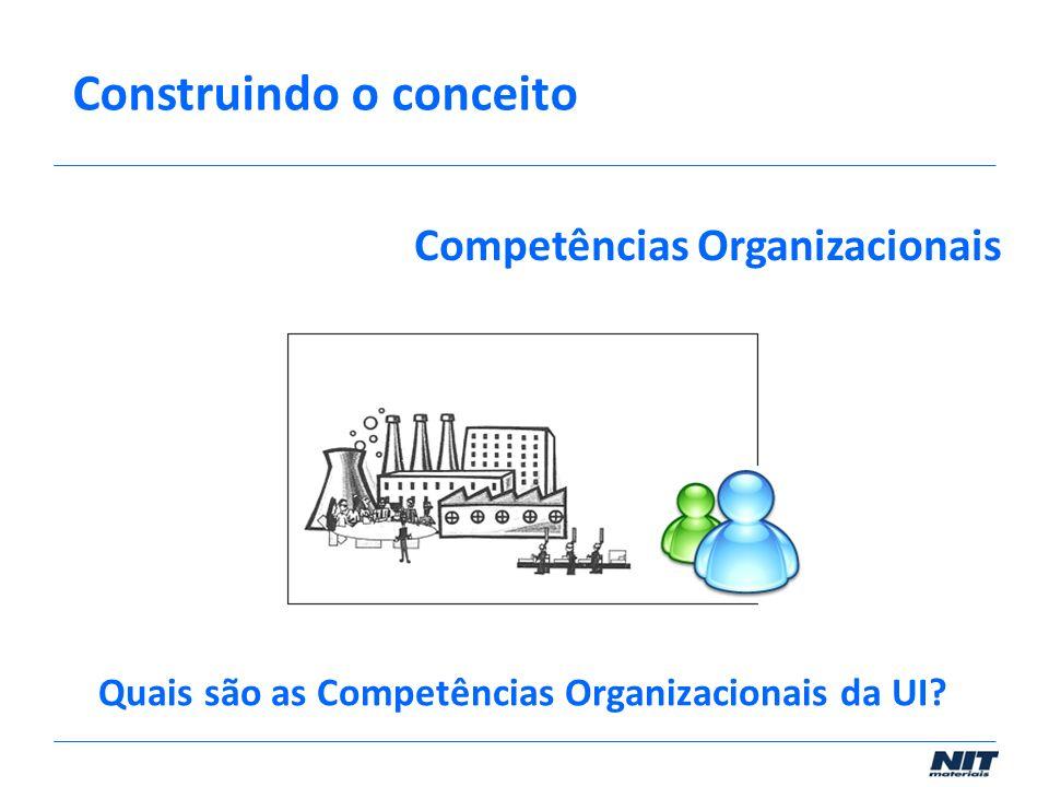 Quais são as Competências Organizacionais da UI