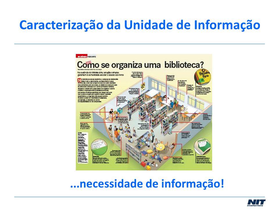 ...necessidade de informação!