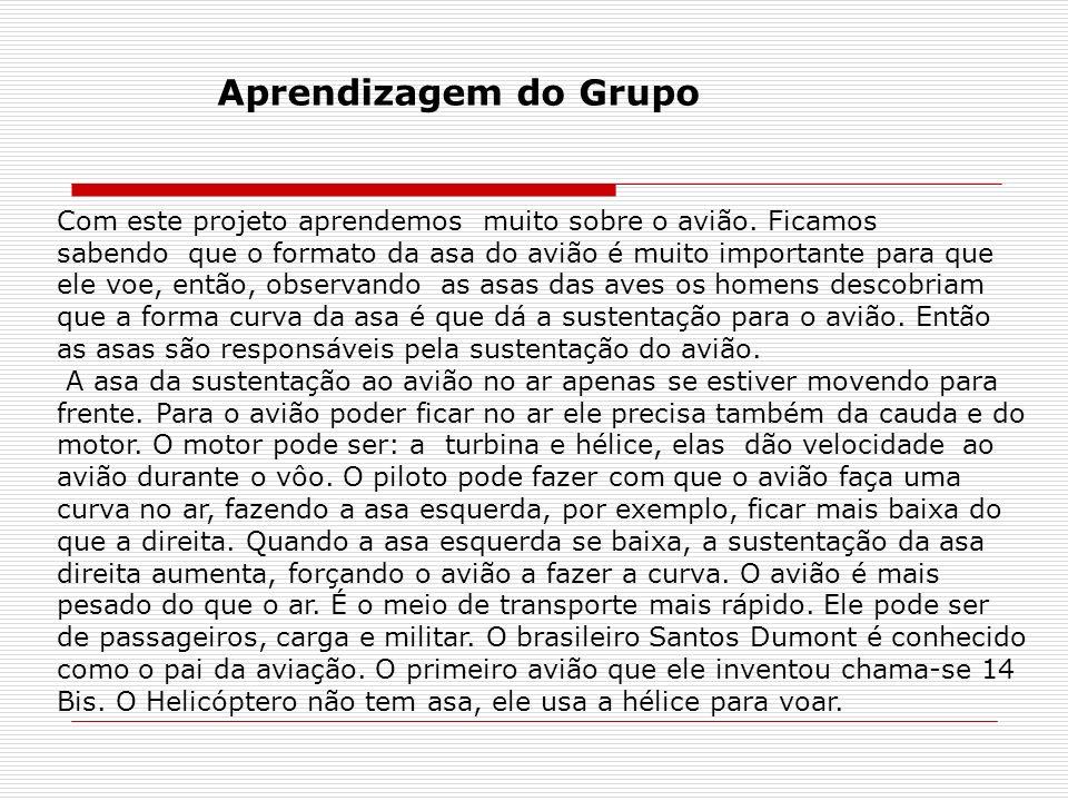 Aprendizagem do Grupo