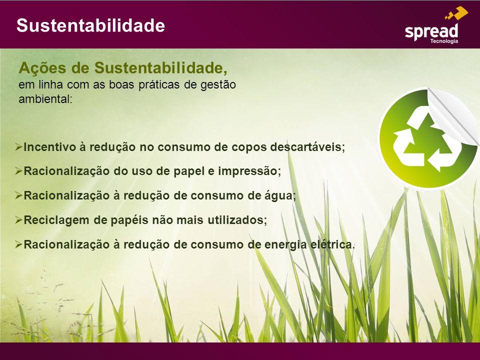 Sustentabilidade Ações de Sustentabilidade,