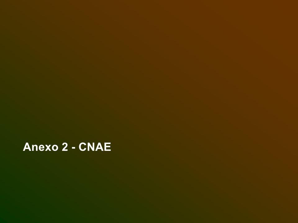 Anexo 2 - CNAE