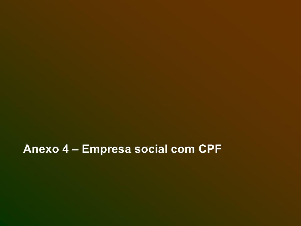 Anexo 4 – Empresa social com CPF