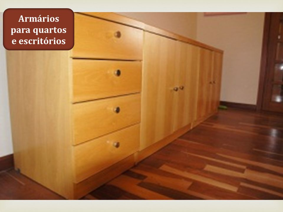 Armários para quartos e escritórios