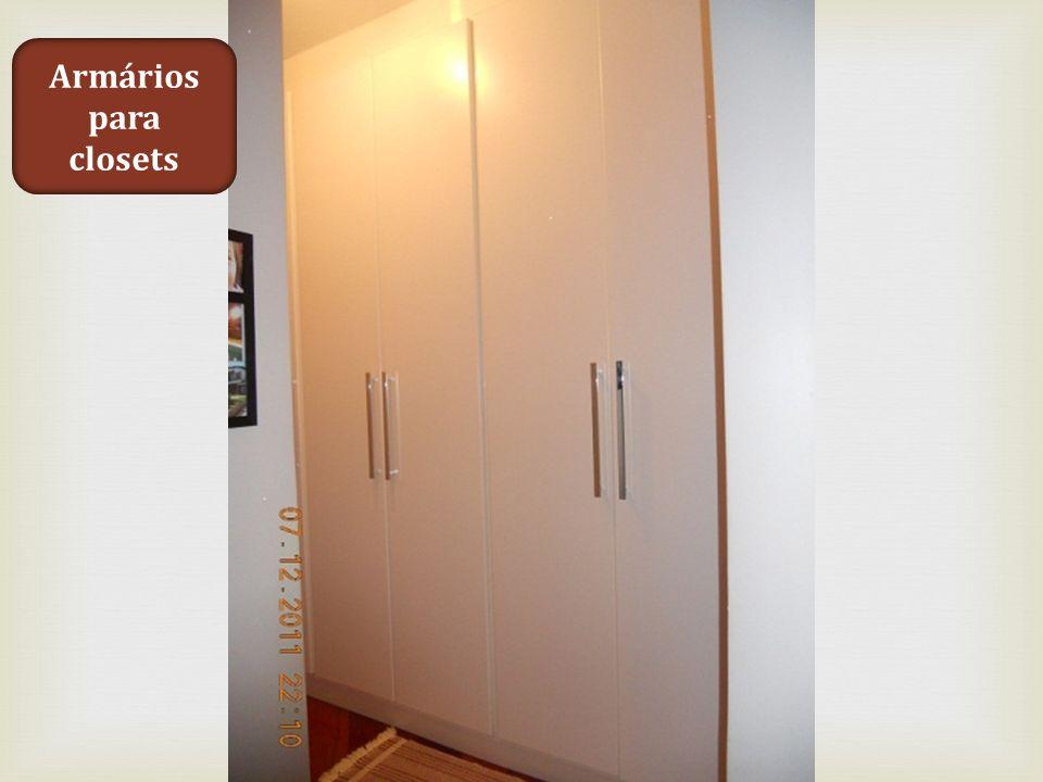 Armários para closets