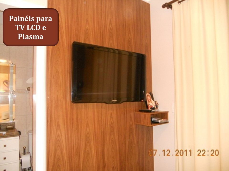 Painéis para TV LCD e Plasma