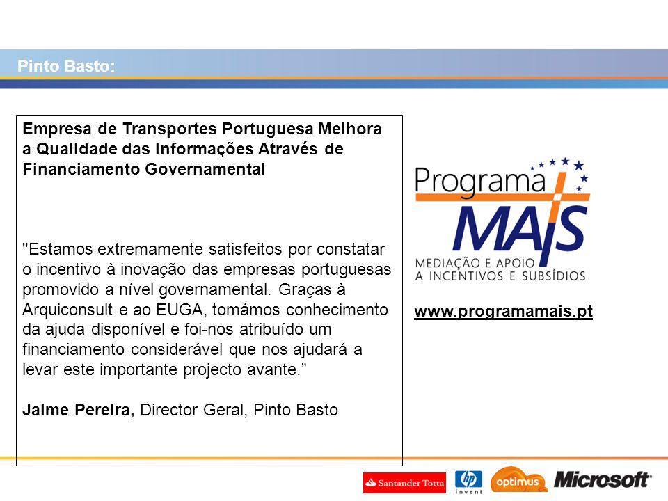Pinto Basto: Empresa de Transportes Portuguesa Melhora a Qualidade das Informações Através de Financiamento Governamental.