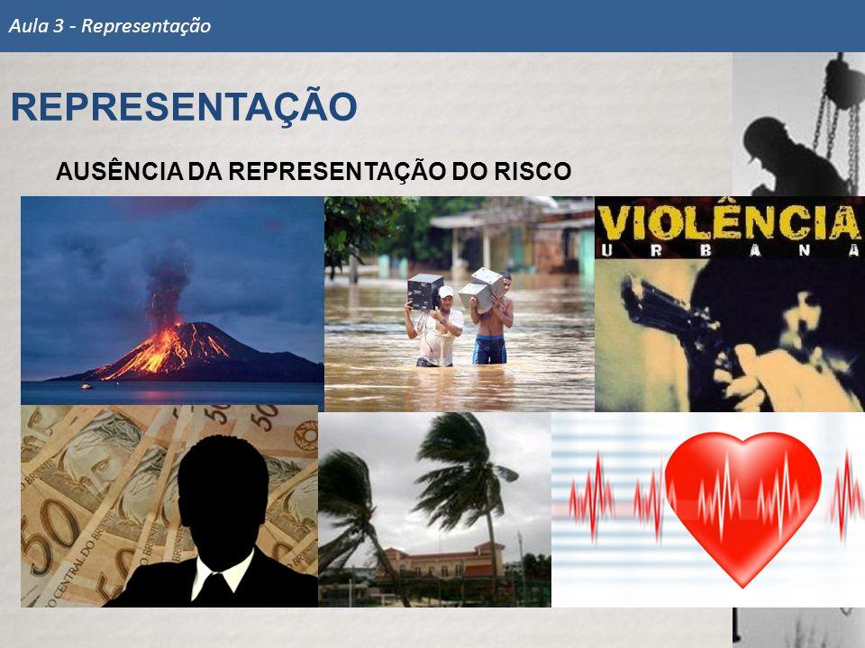REPRESENTAÇÃO AUSÊNCIA DA REPRESENTAÇÃO DO RISCO
