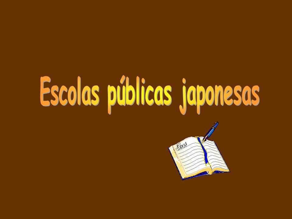 Escolas públicas japonesas