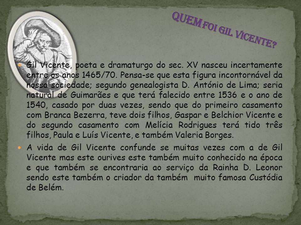 Quem foi Gil Vicente