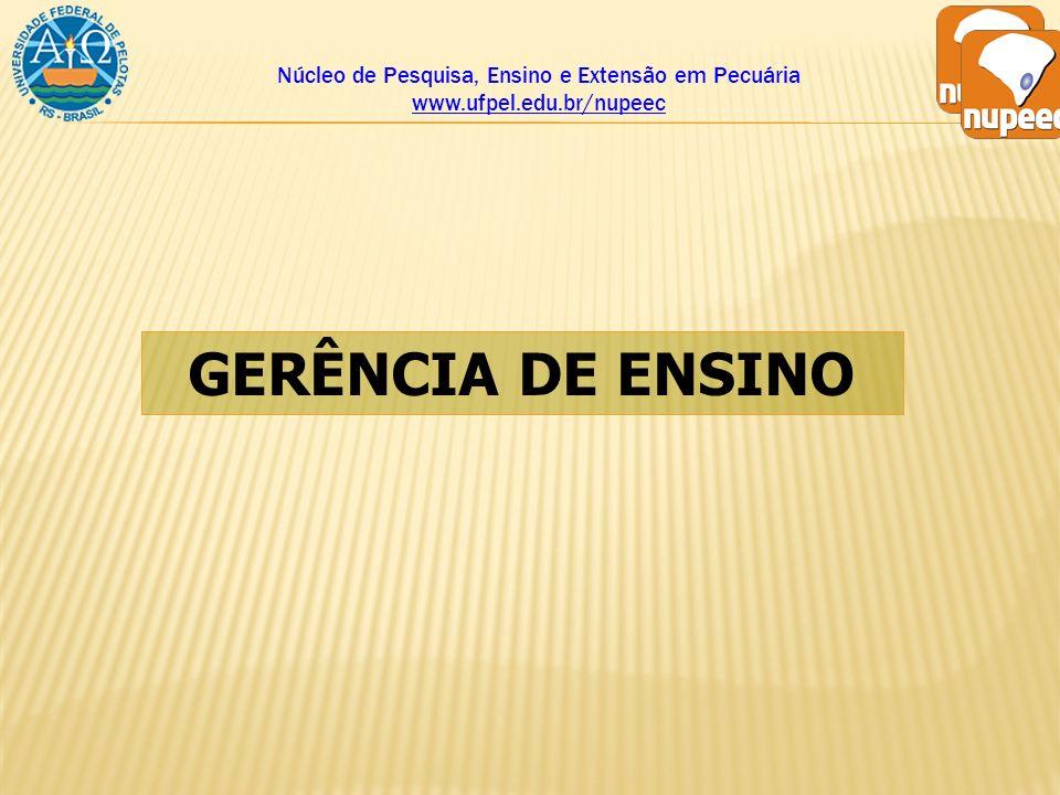 Núcleo de Pesquisa, Ensino e Extensão em Pecuária www. ufpel. edu