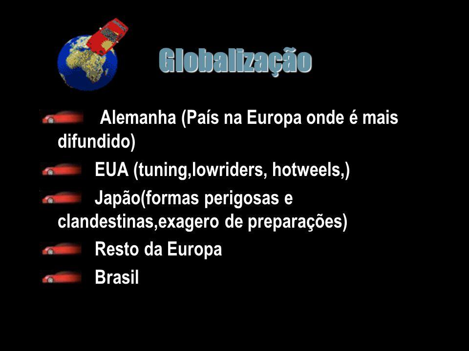 Globalização Alemanha (País na Europa onde é mais difundido)