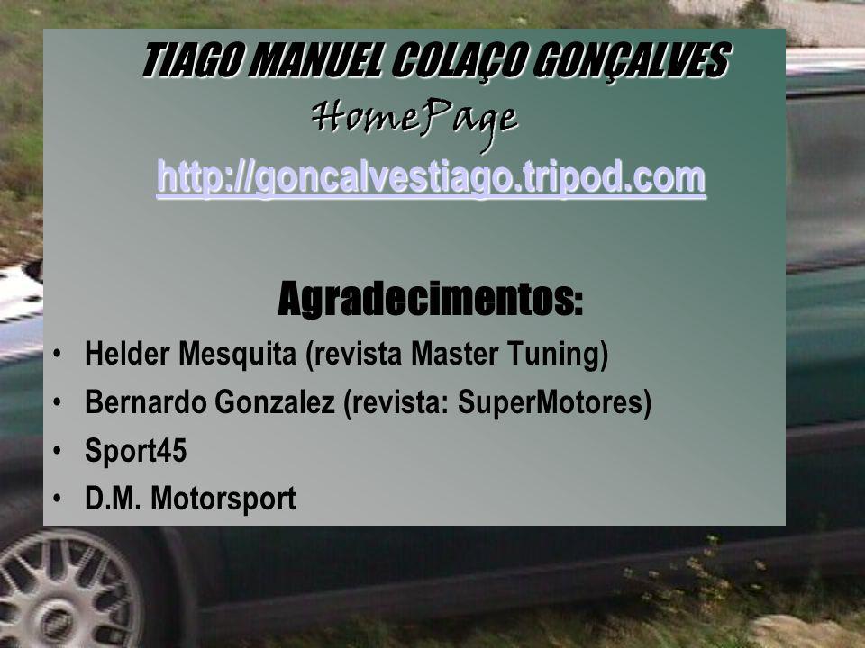 TIAGO MANUEL COLAÇO GONÇALVES
