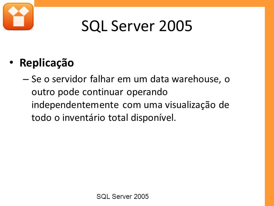 SQL Server 2005 Replicação.