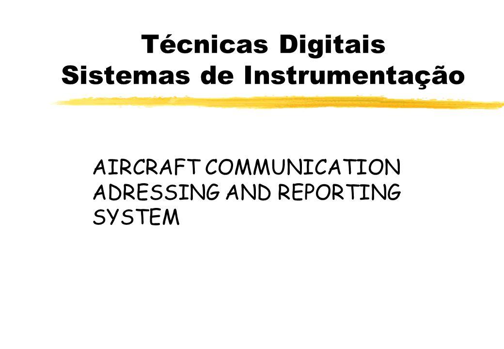 Técnicas Digitais Sistemas de Instrumentação