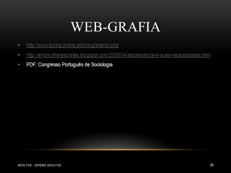 Web-Grafia http://www.tuning.online.pt/tuning/interior.php
