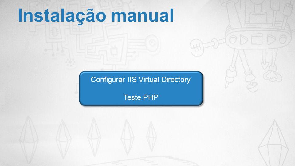 Configurar IIS Virtual Directory