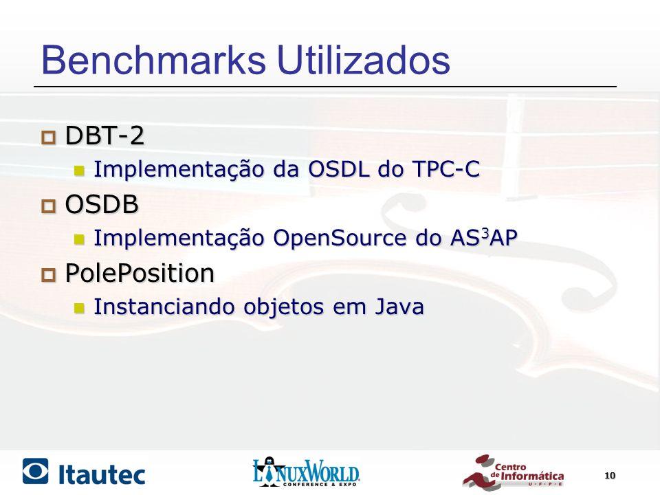 Benchmarks Utilizados
