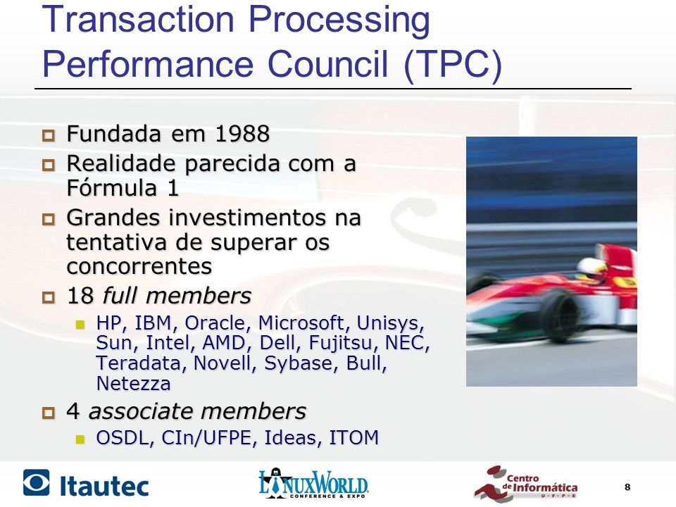 Transaction Processing Performance Council (TPC)