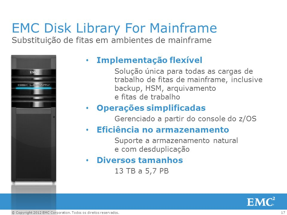 EMC Disk Library For Mainframe