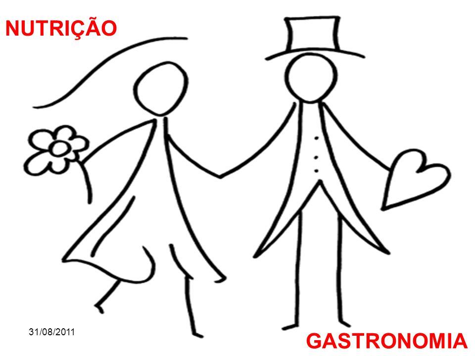 NUTRIÇÃO 31/08/2011 GASTRONOMIA