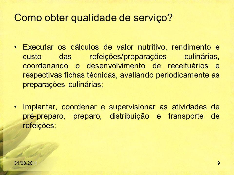 Como obter qualidade de serviço