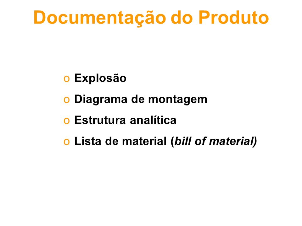 Documentação do Produto