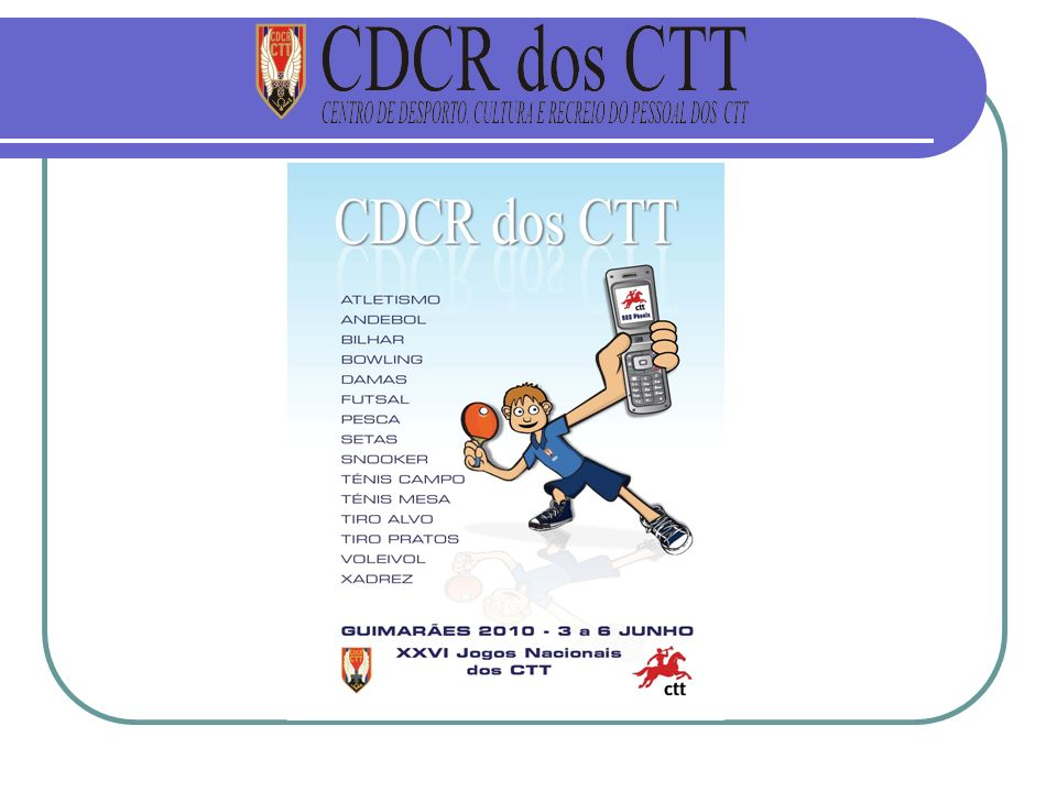 CDCR dos CTT