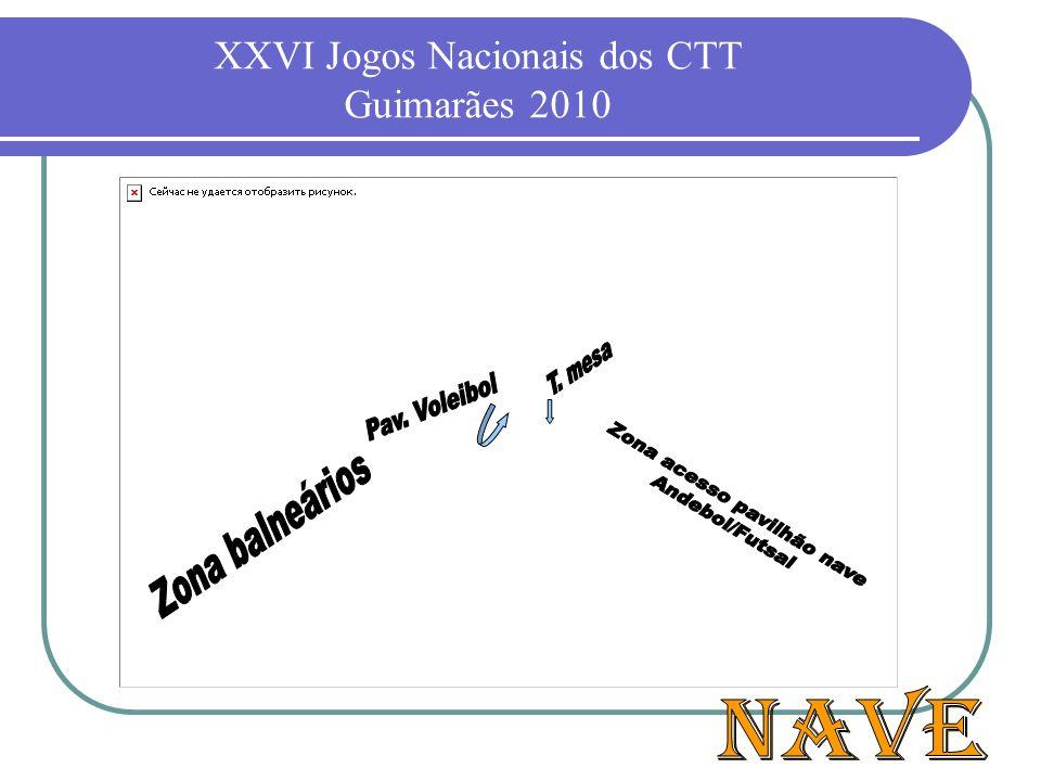 XXVI Jogos Nacionais dos CTT Guimarães 2010