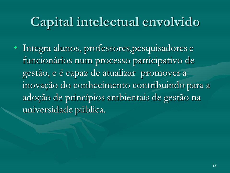 Capital intelectual envolvido