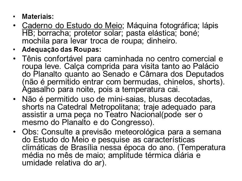 Materiais: