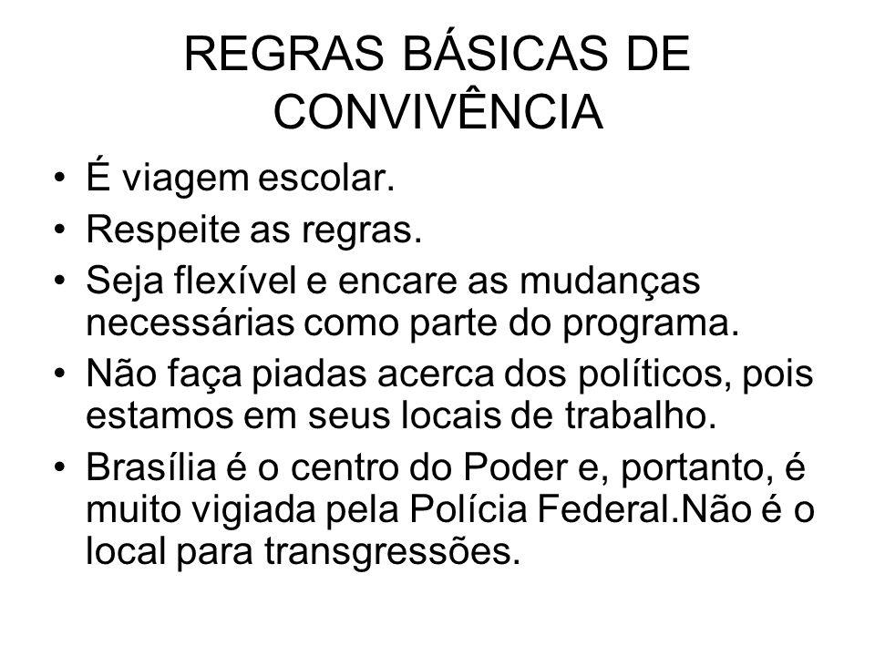 REGRAS BÁSICAS DE CONVIVÊNCIA
