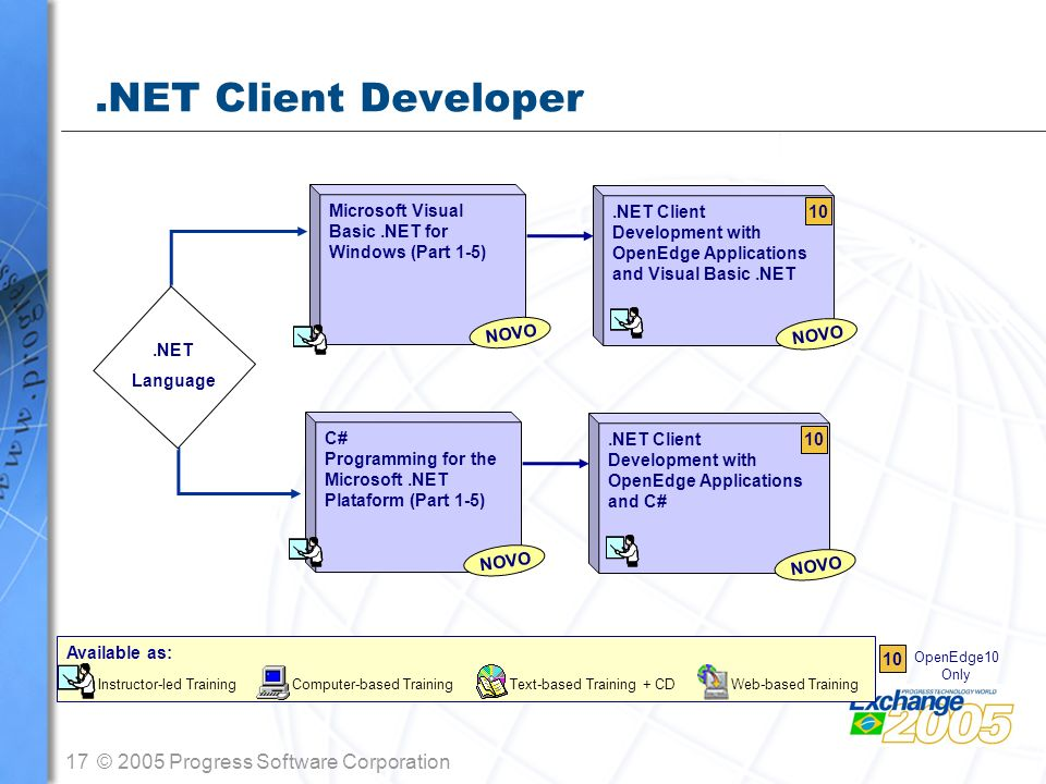 .NET Client Developer Microsoft Visual .NET Client Basic .NET for 10
