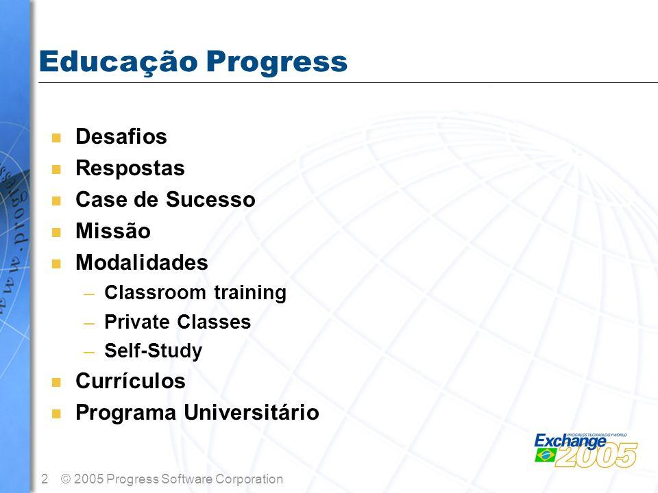 Educação Progress Desafios Respostas Case de Sucesso Missão
