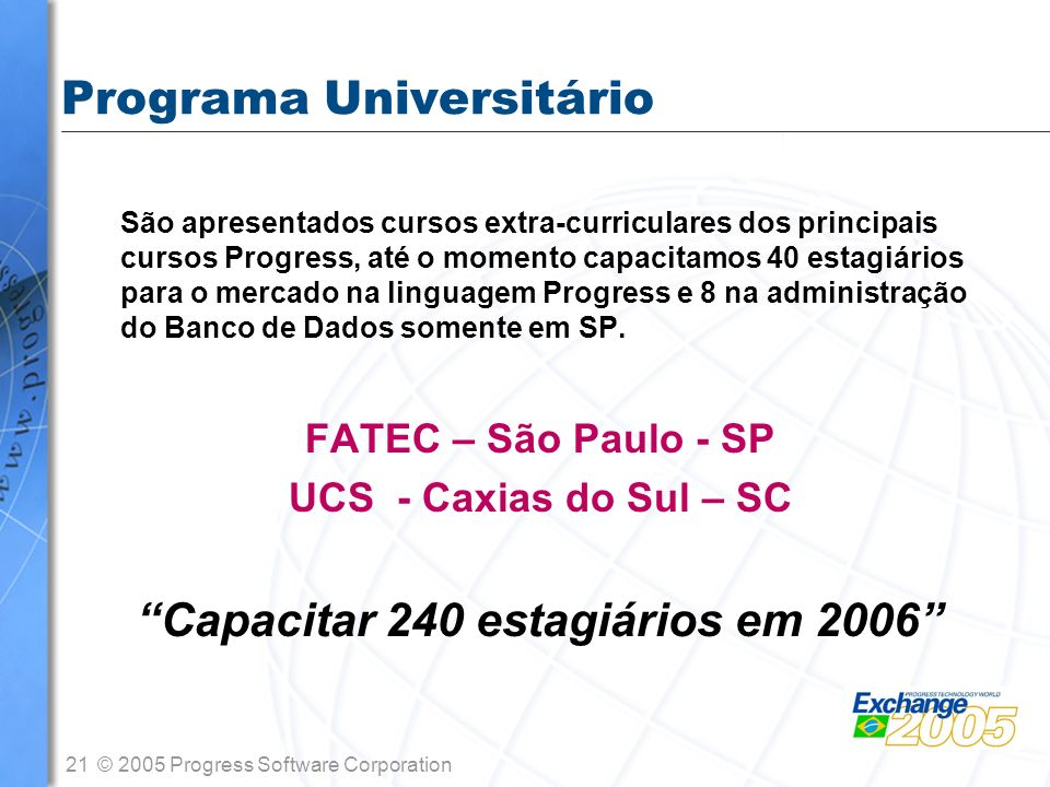 Programa Universitário