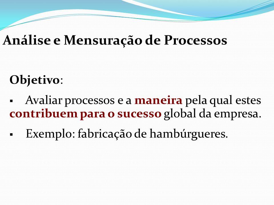 Análise e Mensuração de Processos