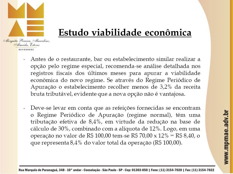 Estudo viabilidade econômica