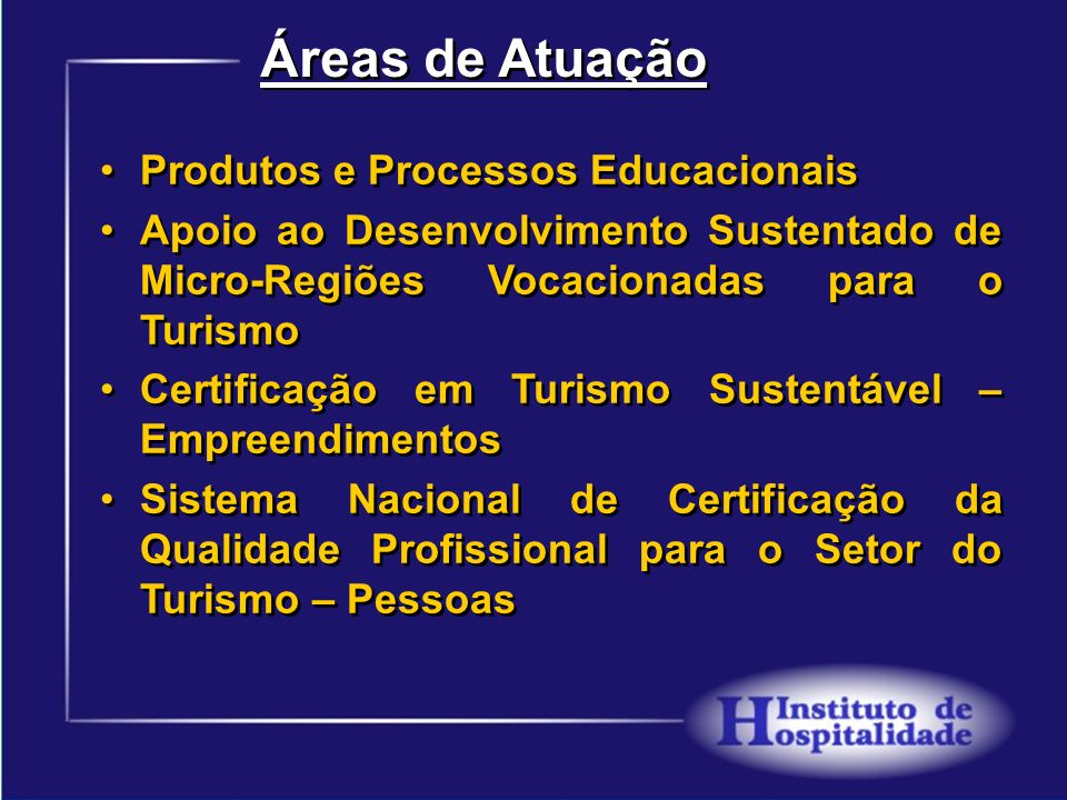 Áreas de Atuação Produtos e Processos Educacionais