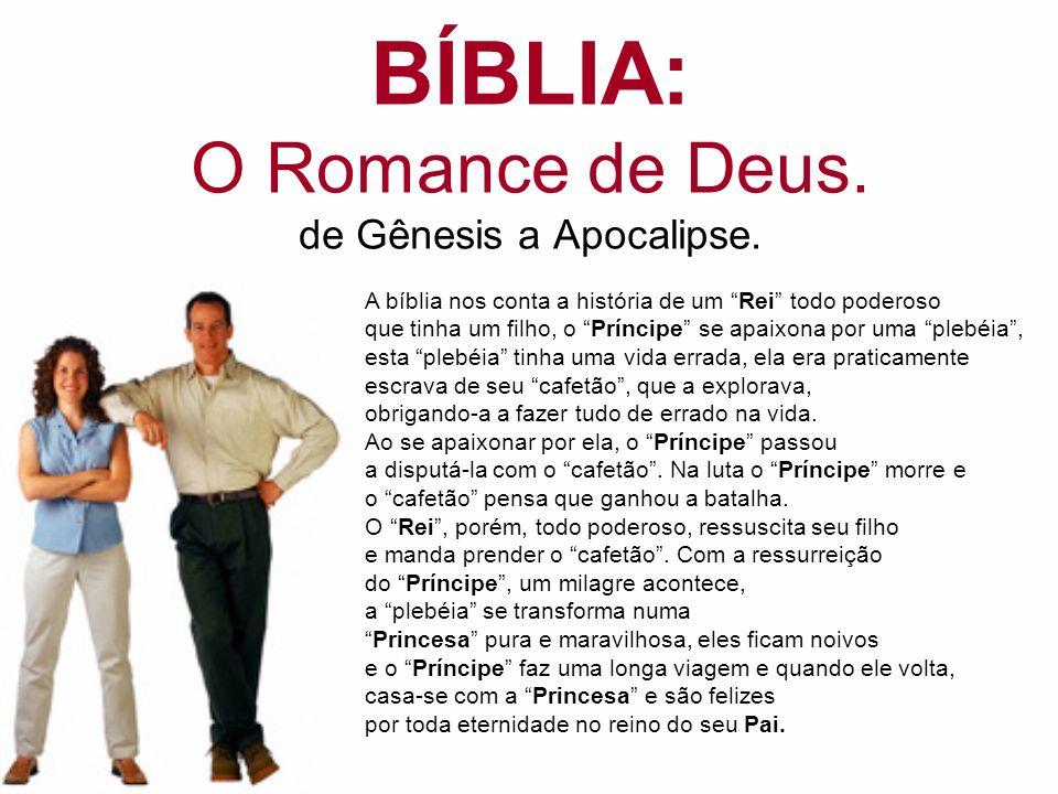 BÍBLIA: O Romance de Deus. de Gênesis a Apocalipse.