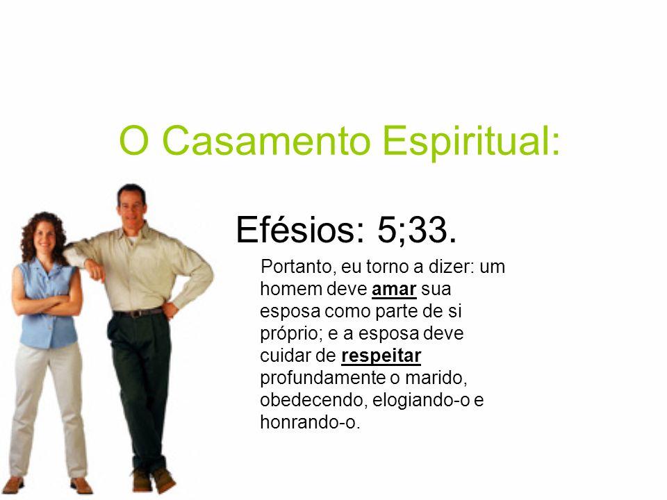 O Casamento Espiritual: