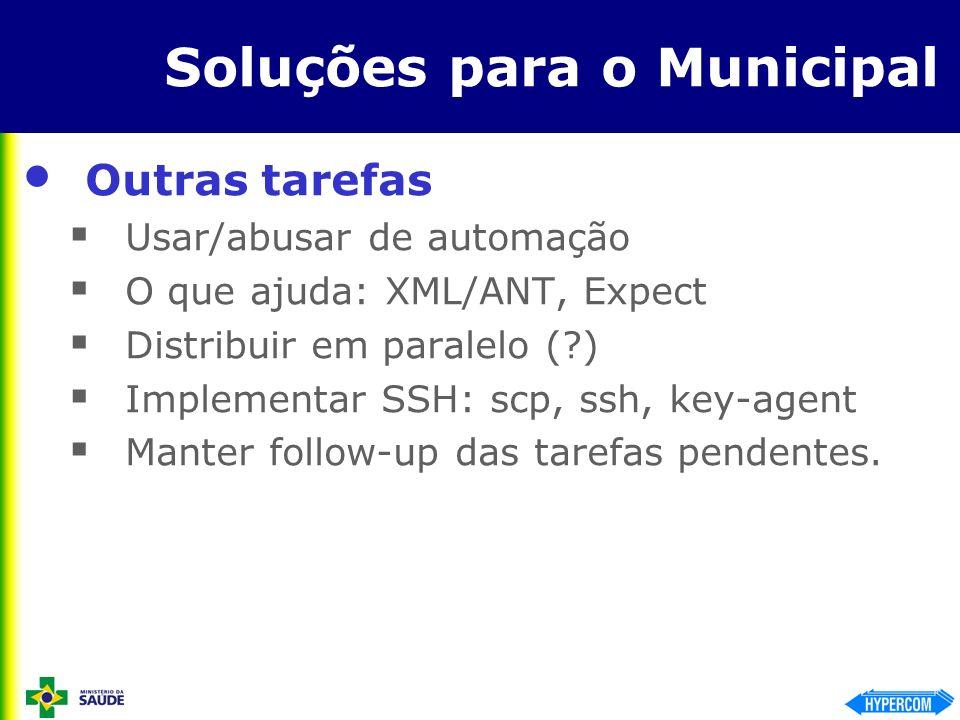 Soluções para o Municipal