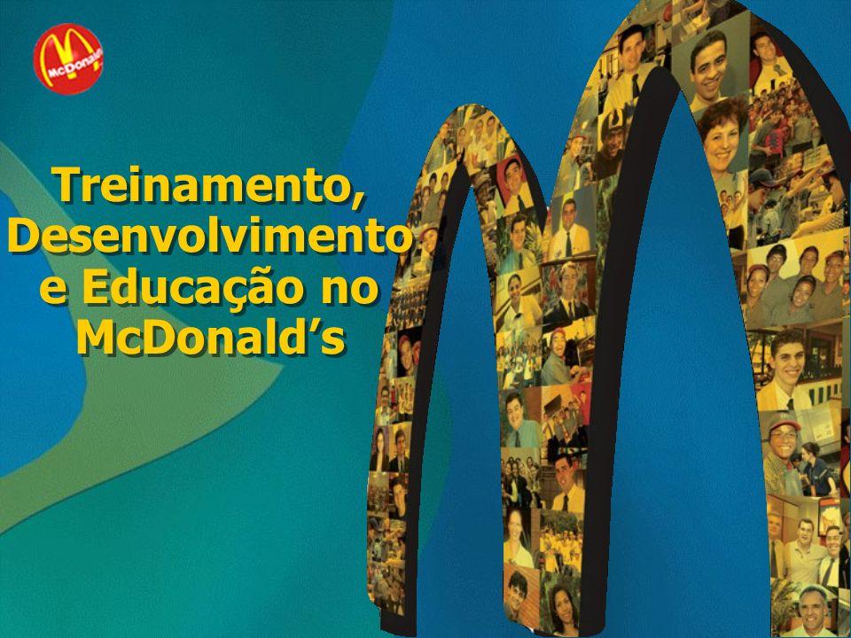 Treinamento, Desenvolvimento e Educação no McDonald's