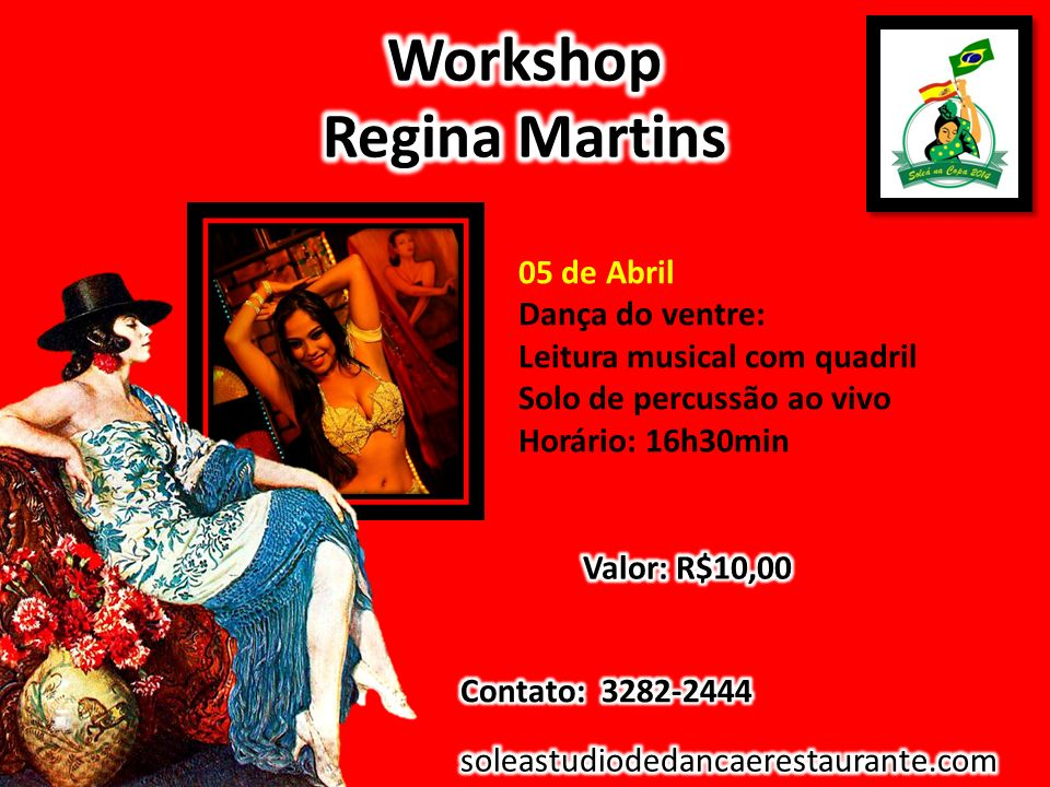 Workshop Regina Martins